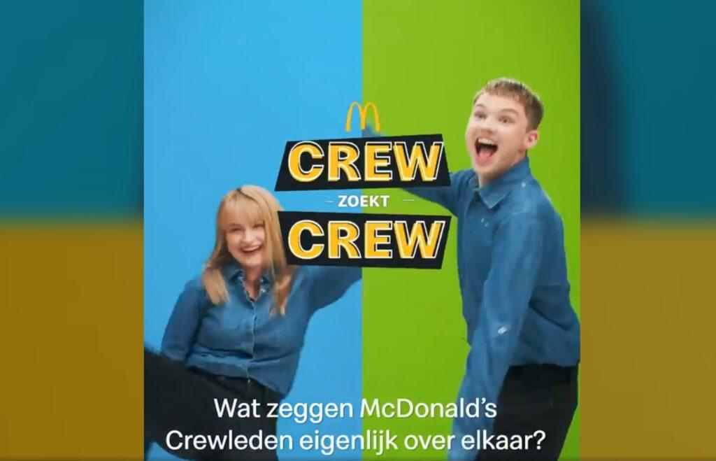 mcdonald's campagne crew leukste crew campagne mcdonald's