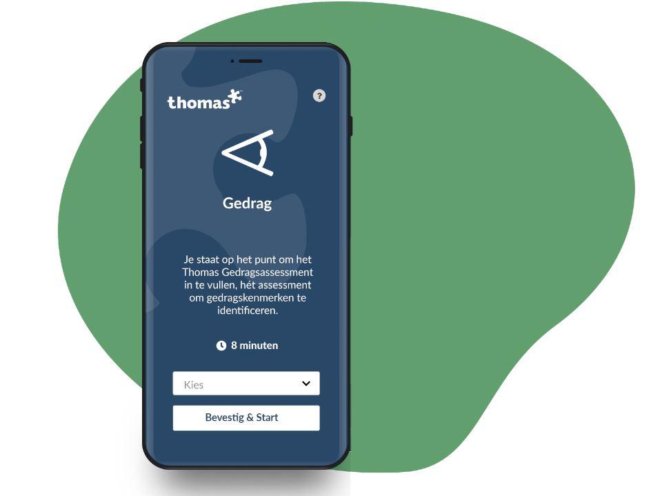 Levina de Vreeze (Thomas): 'Hoe eerder je assesst, hoe meer informatie je hebt'