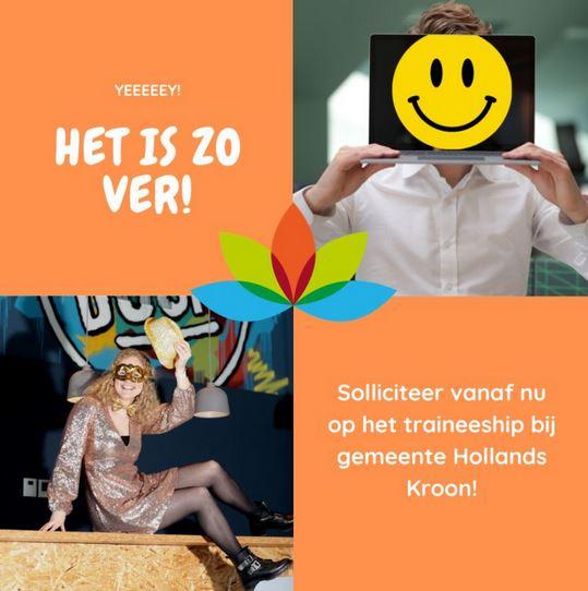 gemaskerd solliciteren hollands kroon trainees