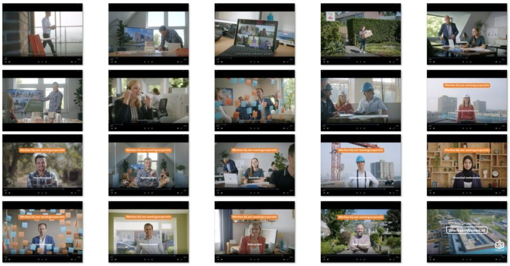 Campagne van de week: Hoe de woningcorporaties samen hun werk promoten