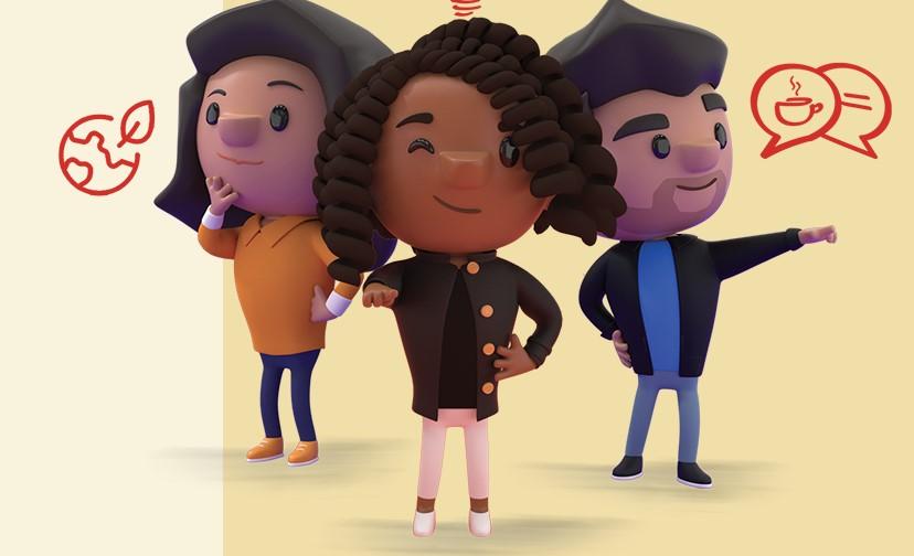 Campagne van de week: Over alle karakters van alle Exacters